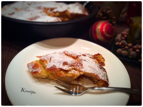 Уезенский рождественский яблочный тарт
