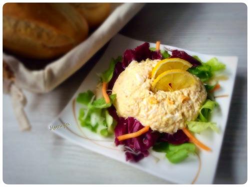 Салат-закуска із м'яса крабa