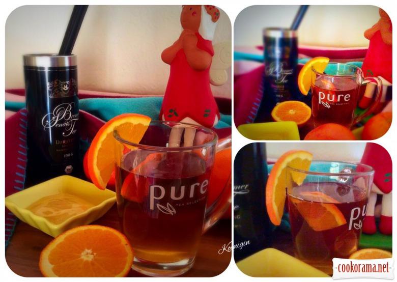 Зимовий чай «Медовий дотик» з апельсином