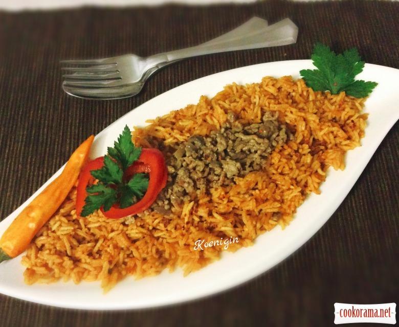 Гювеч з рисом