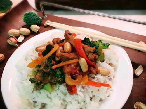 Свинина з овочами Чоп Сой, Chop Suey