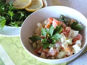 Яічний салат
