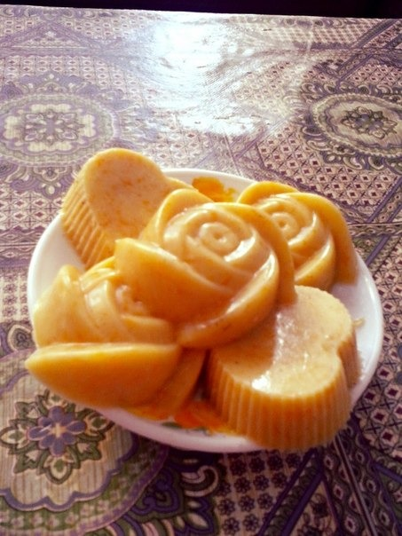Апетитний апельсиновий пудинг
