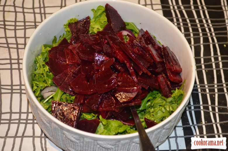 May salad or Elegant beet