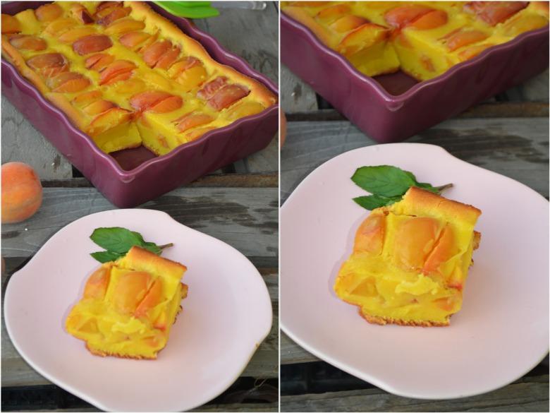 Персиковий клафуті, або Фруктовий омлет