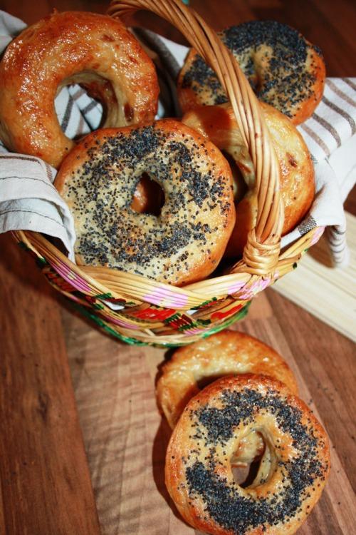 Бублики (bagels) класичний рецепт