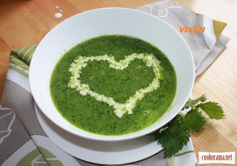 Vitamin nettle soup