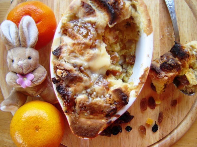 Пудинг із паски (Або украінська версія bread and butter pudding);-)