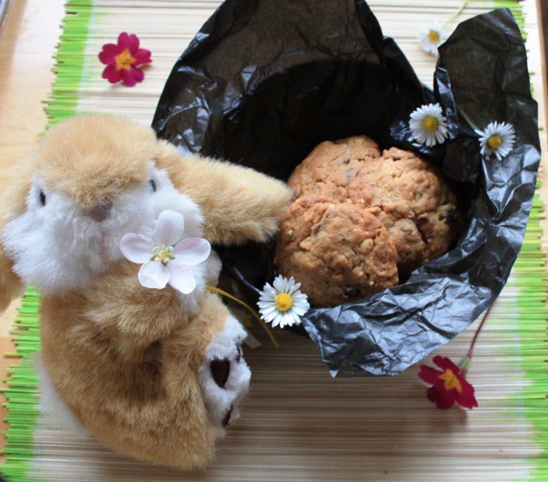 """Печиво з горіхами, журавлиною та шоколадними """"вкрапленнями"""""""