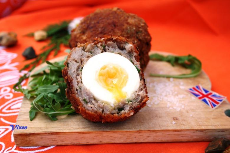 Scotch eggs ( або яйця по- шотландськи)