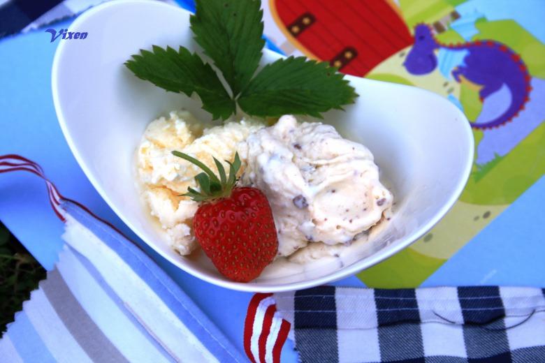 Домашнее мороженое 2 в одном: с шоколадной крошкой и лимонное