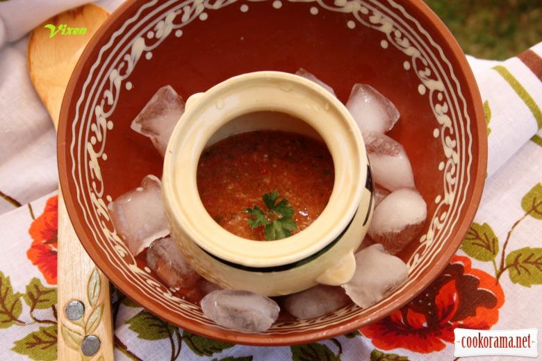 Холодный суп а-ля «Гаспаччо»