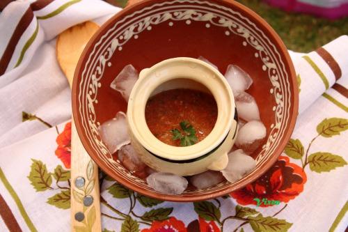 "Холодний суп а-ля ""Гаспачо"""