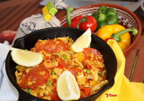 Паэлья с морепродуктами рецепт пошагово в