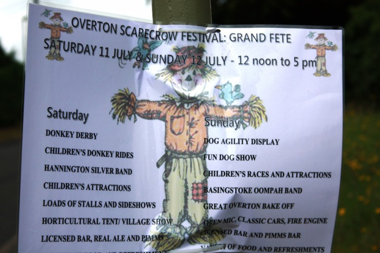 Scarecrow festival або літній фестиваль опудал;-)