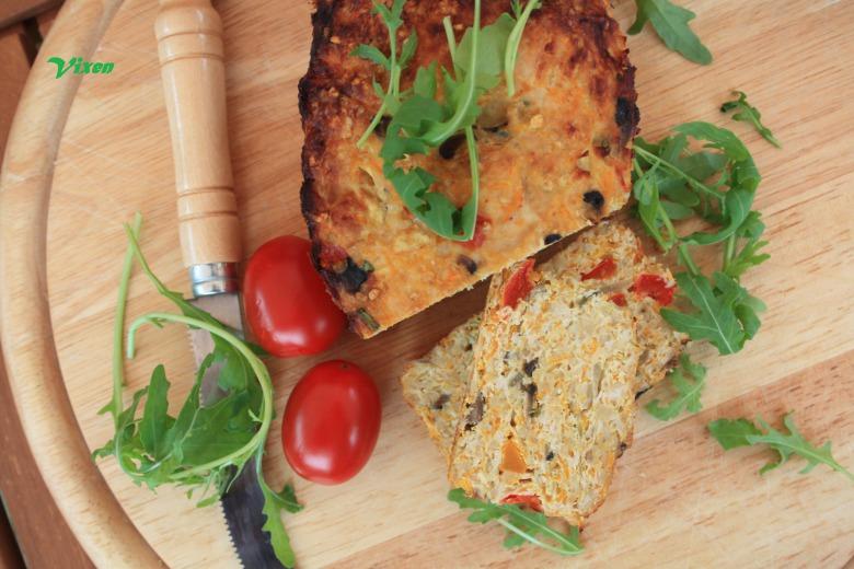Мясной хлебец из индейки с овощами:-)