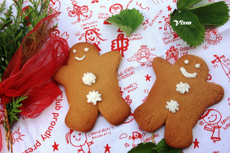Gingerbread mans или имбирные человечки