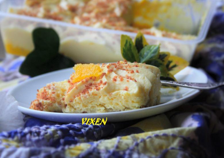 """Lemonisu, освіжаючий десерт або лимонний варіант """"тірамісу"""""""