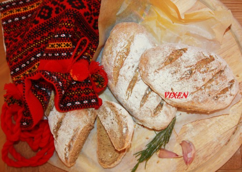 """Гречаний хлібчик з льоном та насінням """"З тайстри"""""""