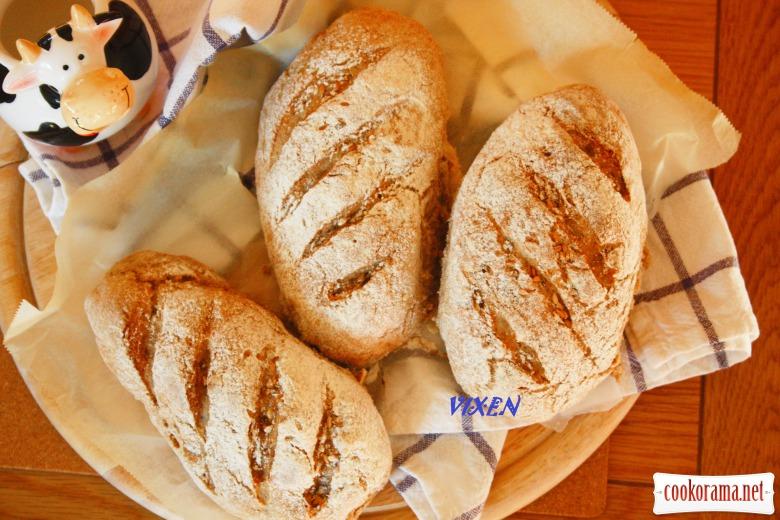 Гречаний хлібчик з льоном та насінням «З тайстри»
