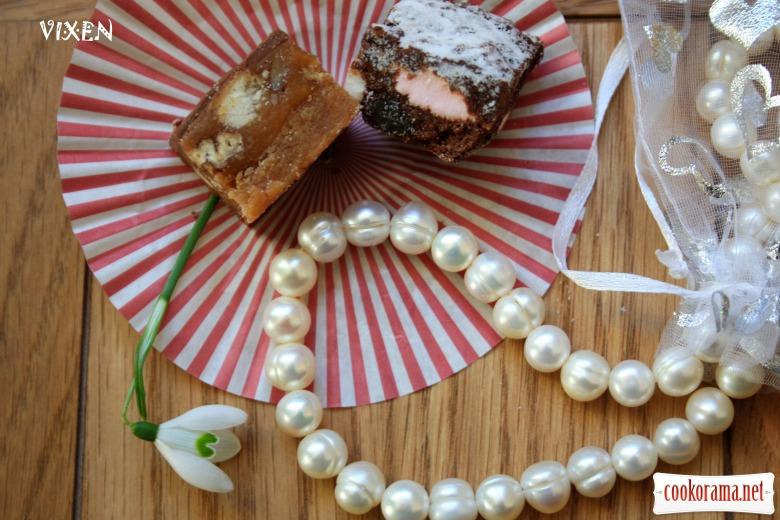 Печенье «каменистая дорога» и «карамельно-ореховое»