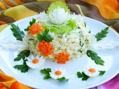 "Spring salad ""Monika"""