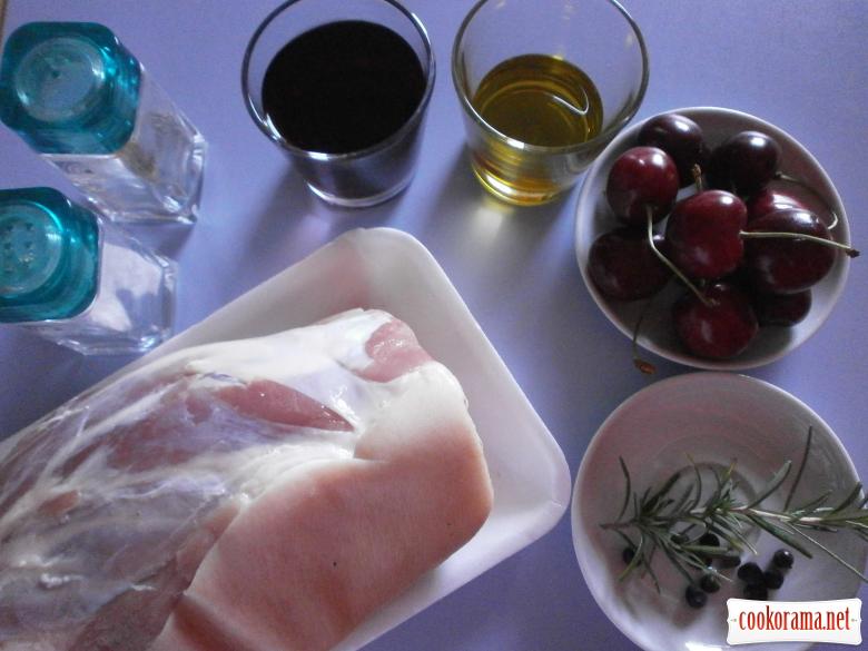 Рецепт свинной рульки