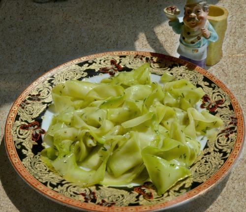 Маринованный кабачок (на закуску)