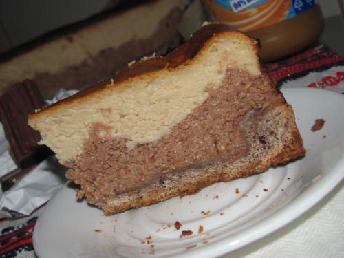 Сирник з арахісовим маслом та шоколадом