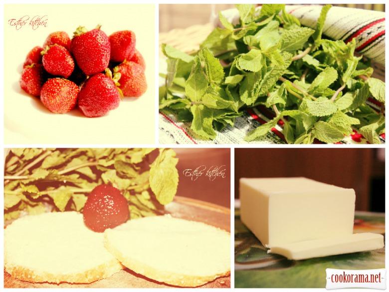 Сладенькие клубничные сэндвичи. «Strawberry sandwich»