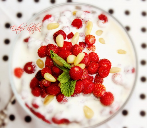 Завтраковый десерт «Happy birthday !!»