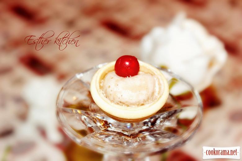 Фуршетний десерт «Bird's milk»