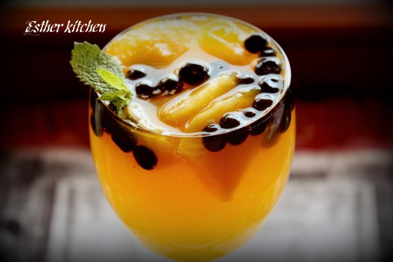 Желейный десерт «Оранжевая свежесть». «Orange freshness».