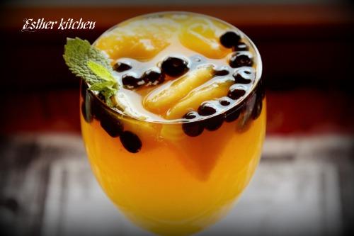 Желейний десерт «Помаранчева свіжість». «Orange freshness».