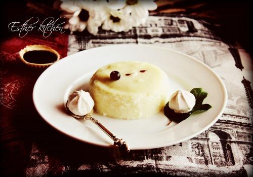 """Кремовий манно-ванільний десерт. """"Dessert childhood"""""""