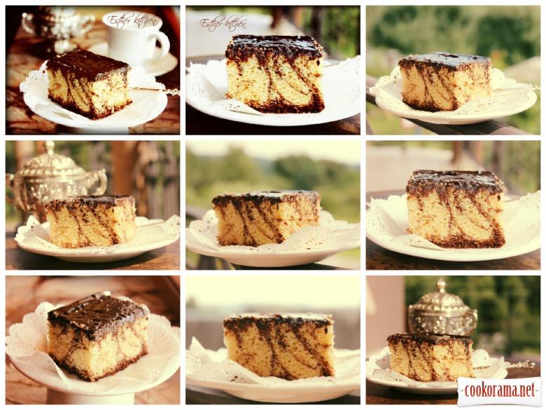 Нежный польский кекс «Oranzada» Barzo smaczne!!