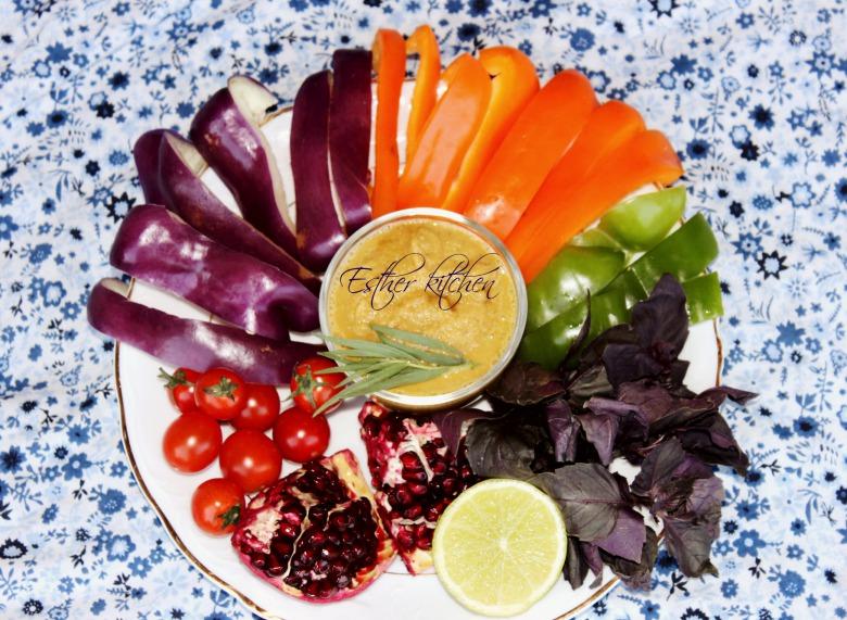 """Овочеві смаколики з ароматною зеленню. Та третій день """"детокс-меню"""" під девізом: """"Один за всіх і всі за одного."""")"""