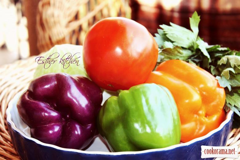 Овочеві смаколики з ароматною зеленню. Та третій день «детокс-меню» під девізом: «Один за всіх і всі за одного.»)