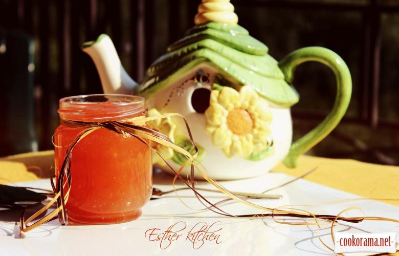 Яблочное янтарное варенье
