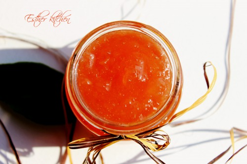Яблучне бурштинове варення
