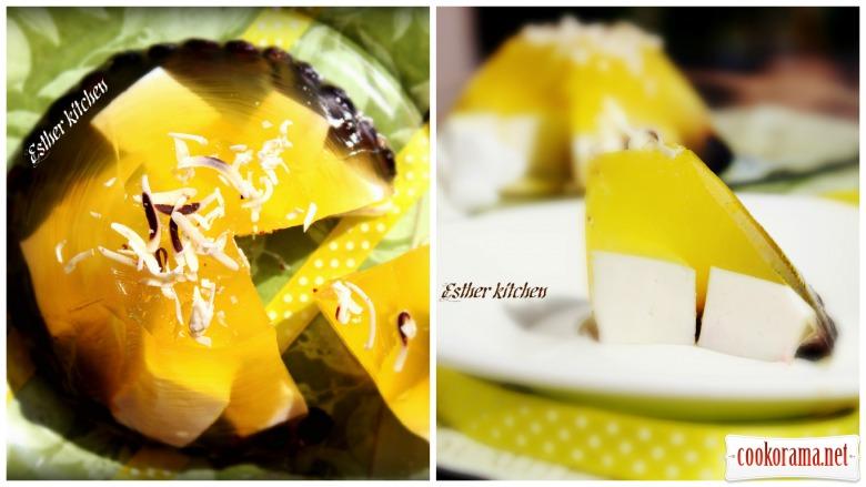 Десерт «Лимонна феєрія смаку». «Lemon extravaganza»