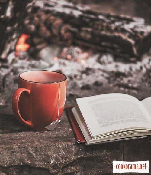 Зимові вітамінні чаї та напої .