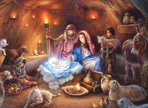 Щирі вітання з Різдвом Христовим!