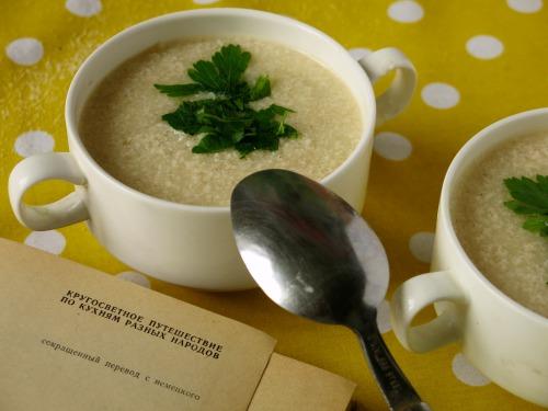 Суп з манки - страчіателла