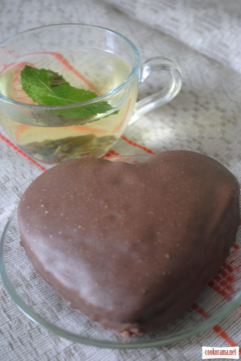 Тістечко шоколадне «Для коханого»