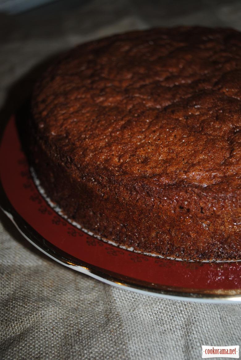 Пиріг шоколадно-сметанний