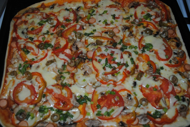 Піца домашня