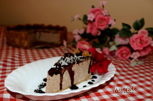 Шоколадний чізкейк