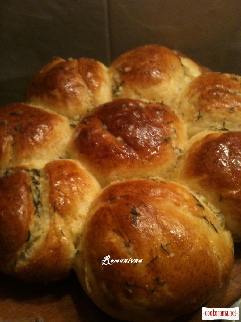 Апетитні та ароматні «Часникові булочки»