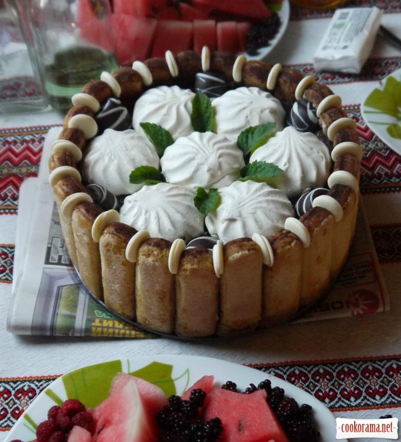 Торт тірамісу від Ожинки